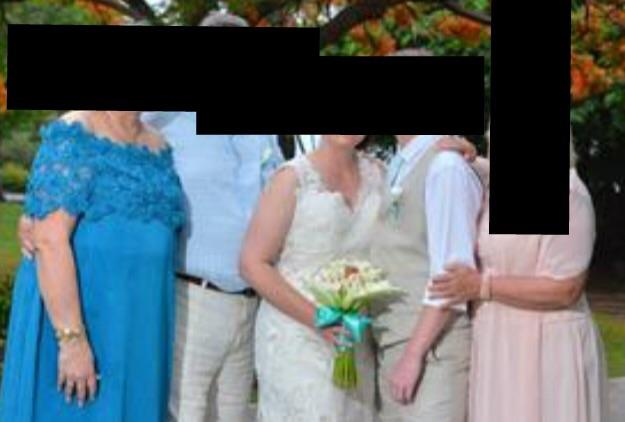fuming bride shares picture