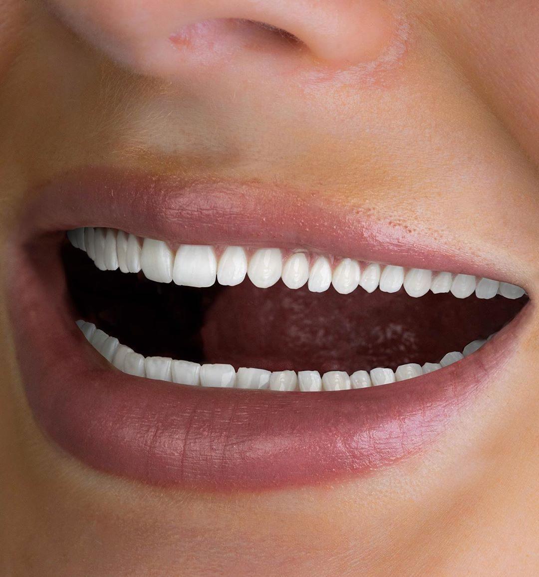creepy tooth whitening advert