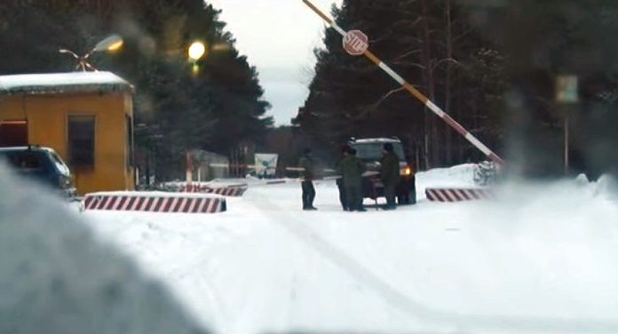 The top secret test centre is located in north-west Russia