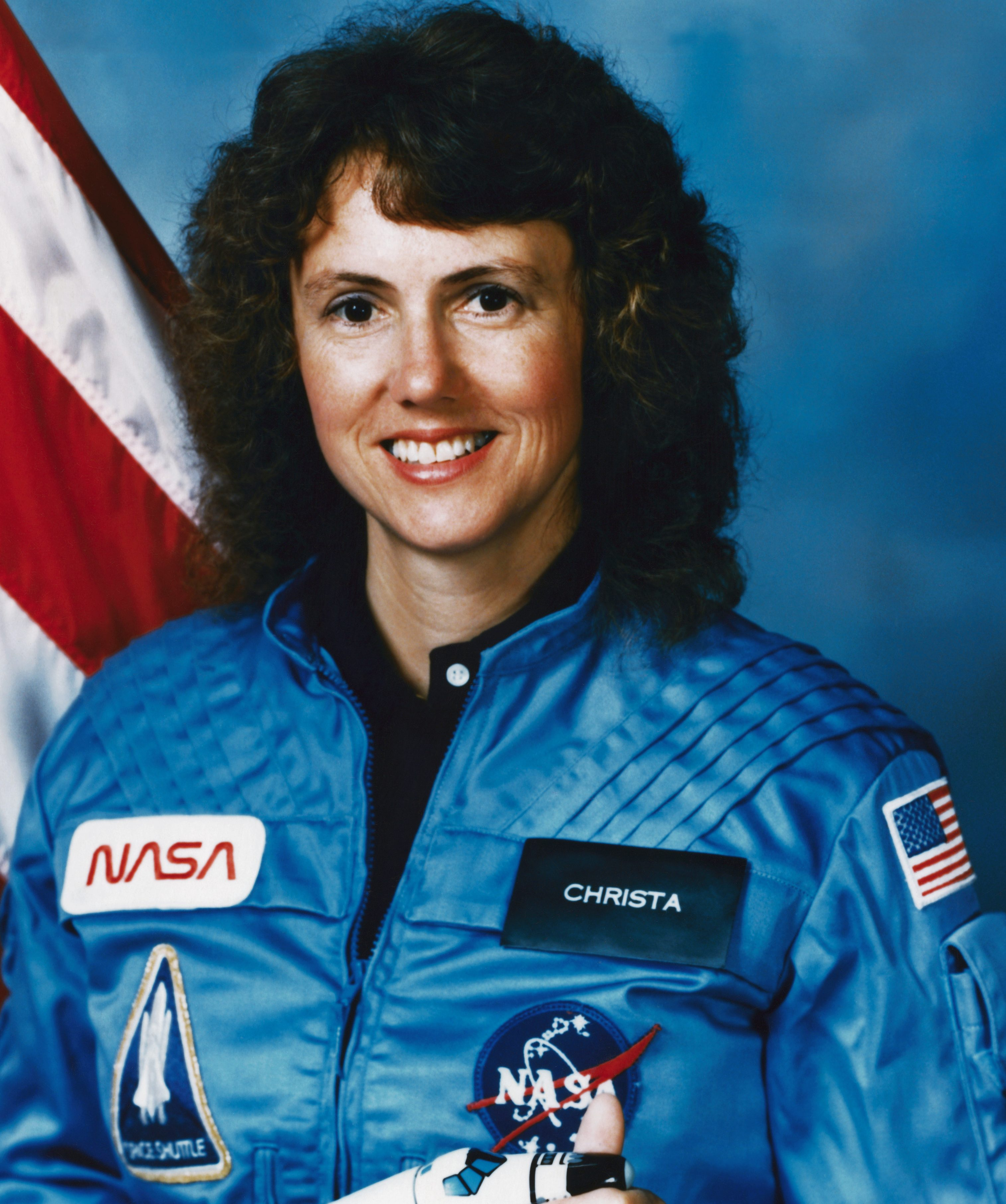 Christa McAuliffe died on board the doomed Space Shuttle Challenger astronaut