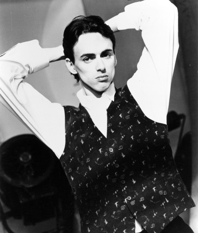 Stephen Duffy, who was a founding member of Duran Duran, around 1985
