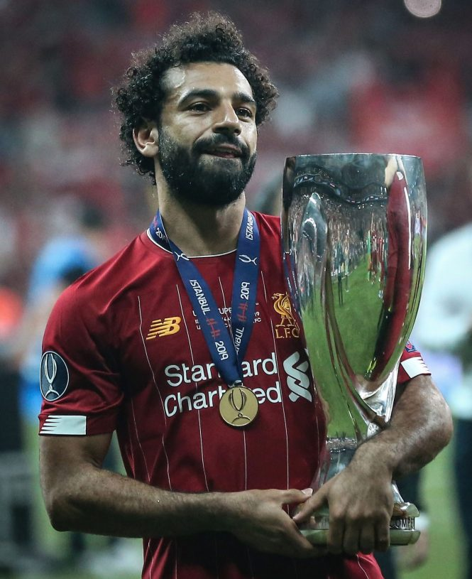 Mo Salah is second in the list behind Kylian Mbappe