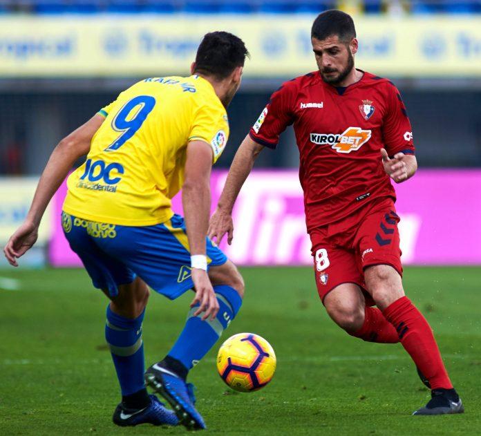 Merida now plys his trade at Osasuna