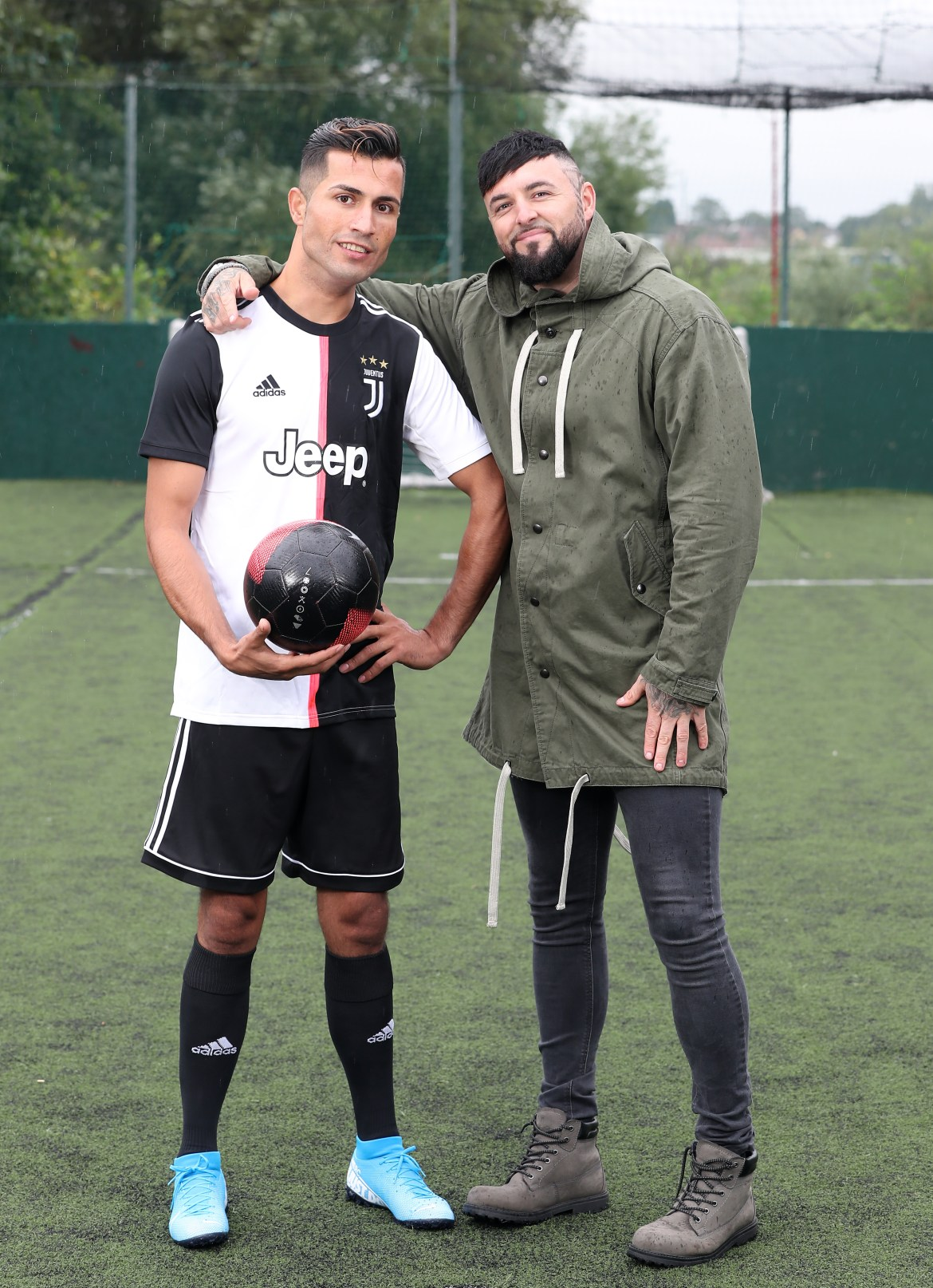 Shane plans to represent Biwar and turn him into a full-time Ronaldo lookalike in the future, appearing at parties and events when called upon