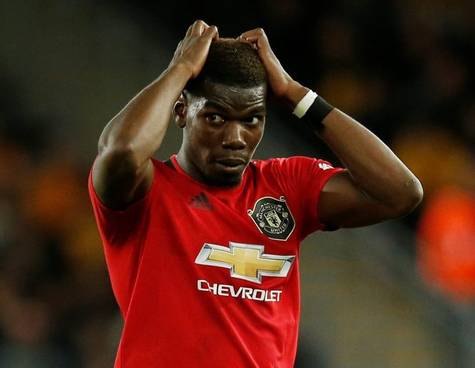 Paul Pogba missed a penalty as Manchester United missed the chance to go top of the Premier League