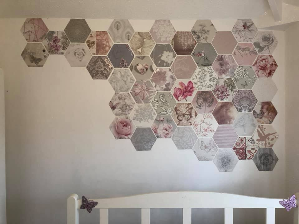 Thrifty Mum Transforms Her Home With Free Wallpaper Samples People Have Hailed Her As An Interior Design Inspiration