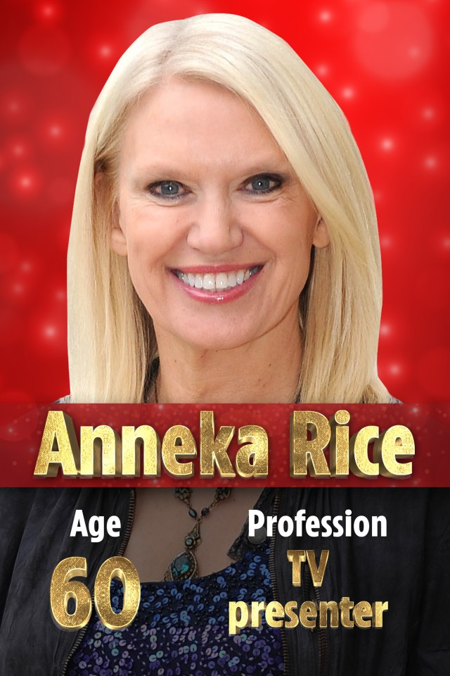 Anneka Rice is swapping her iconic boiler suit for the Stricly Come Dancing ball gowns