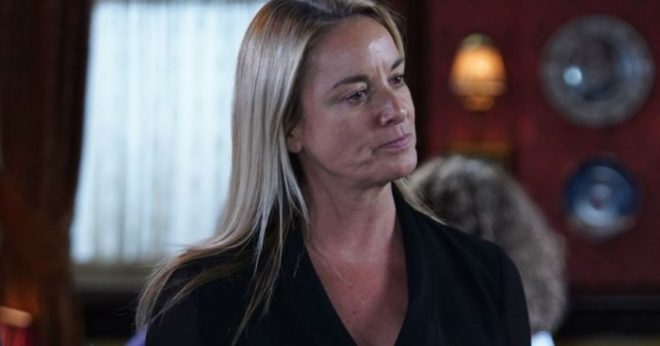 Mel Owen will blackmail Sharon Mitchell in EastEnders with dire consequences