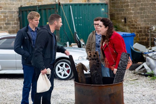 The Emmerdale favourite won't receive the warmest welcome from Robron
