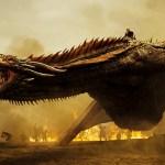 Daenerys on a dragon