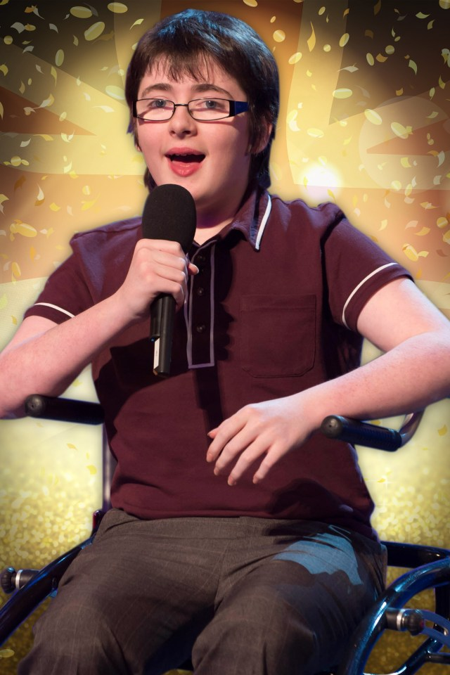 Jack Carroll appeared on BGT when he was just 14