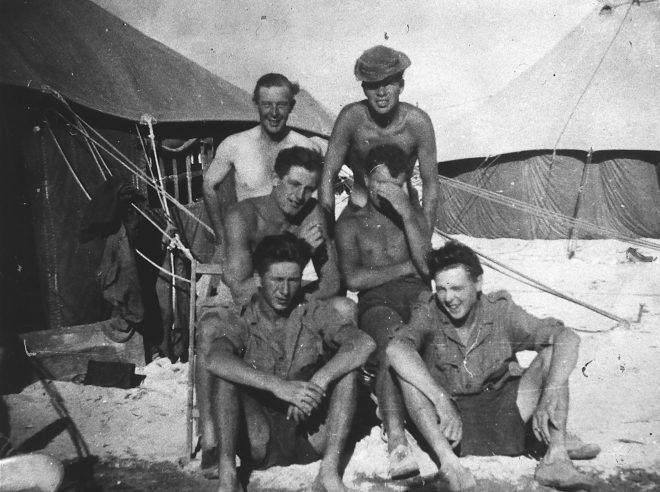 Veterans on Christmas Island, where troops were sent into heavily-contaminated areas in trucks with the windows open