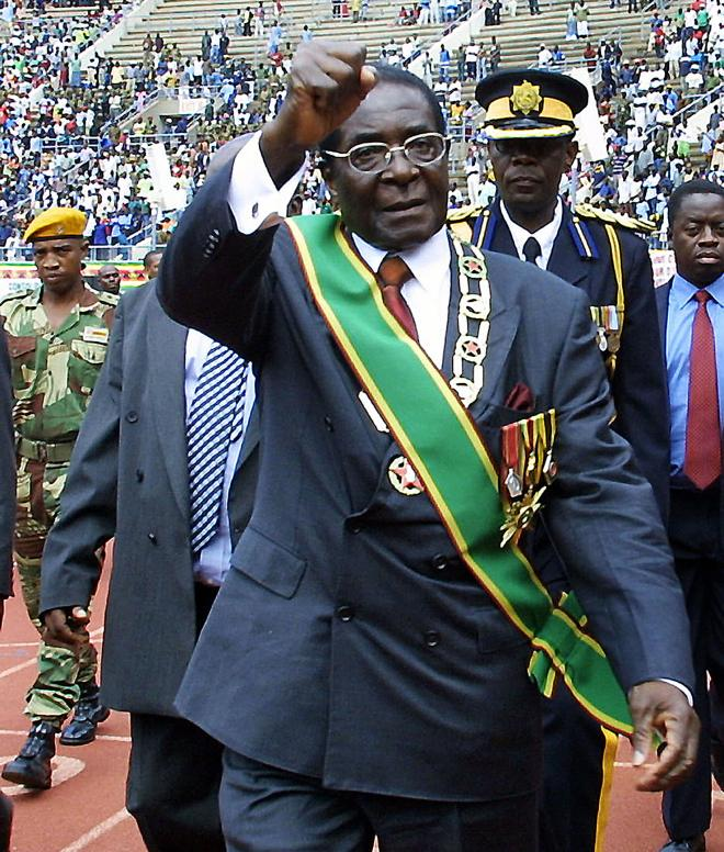 Mugabe had led Zimbabwe for almost four decades