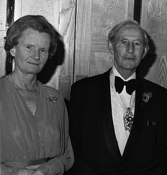 Lord Justice Gibson and his wife Cecily were murdered by an IRA roadside bomb at the height of the Troubles in 1987