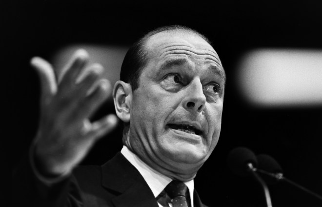 Mr Chirac was president for a full 12 years, from 1995 until 2007