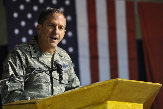 US Air Force general David Goldfein said Area 51 has 'secrets that deserve to be protected'