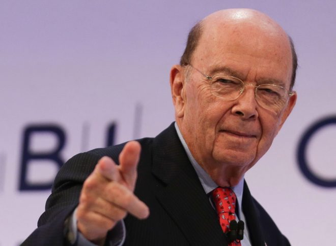Wilbur Ross, the US secretary of commerce, reportedly warned jobs were on the line