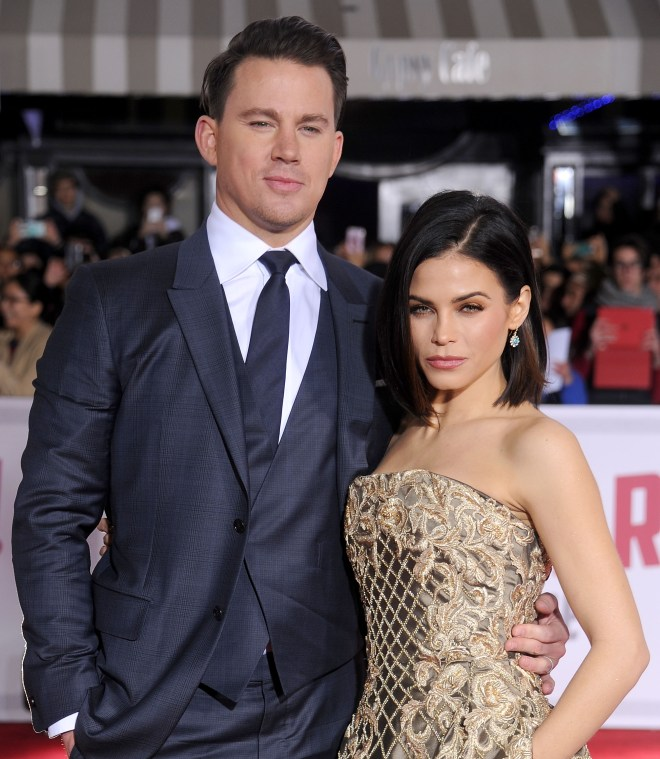 Jenna split from Channing Tatum last year after nine years of marriage