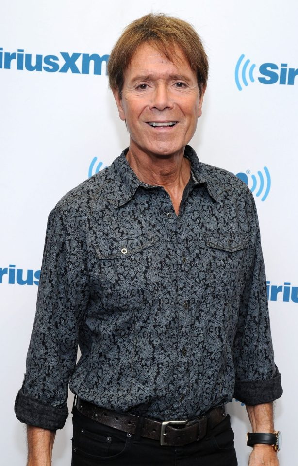Sir Cliff called the TV coverage of his home heartbreaking and intrusive