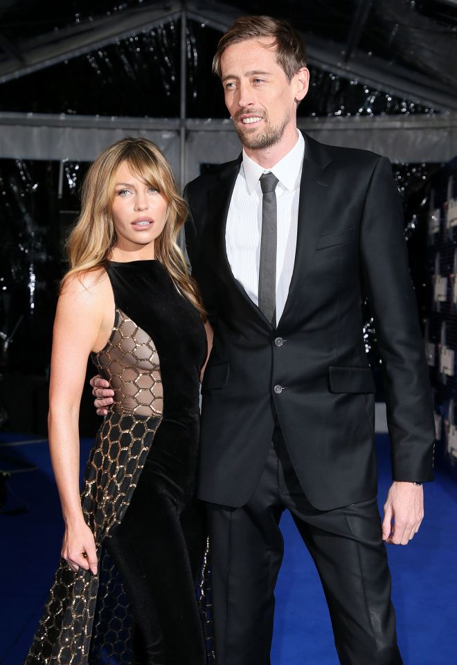 Abbey has been married to footballer Peter Crouch since 2011