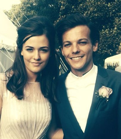 Louis had a close bond with his little sister Felicite