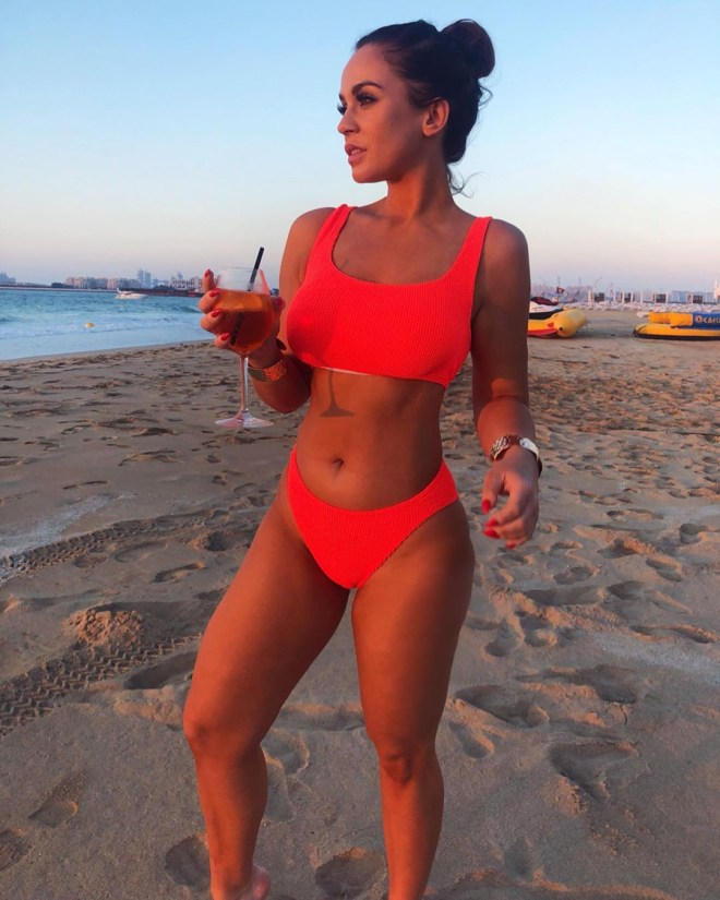 Vicky said boyfriend Ercan Ramadan 'seemed pretty happy' with her efforts