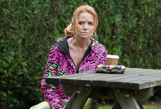 Bianca - who is played by actress Patsy Palmer in the BBC soap - has been away for five years - EastEnders