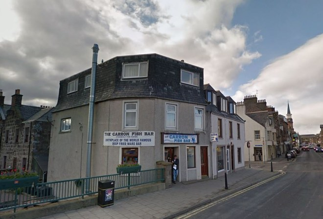 Carron Fish Bar in Scotland boast they were the ones to invent the deep fried Mars Bar