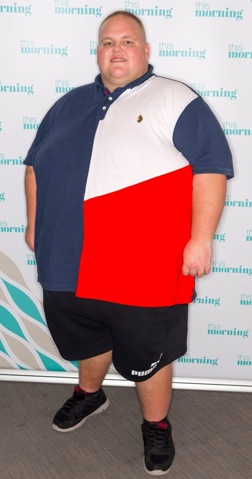 Dibsy was told he was risking his life when at his heaviest weight of 40st 3lbs