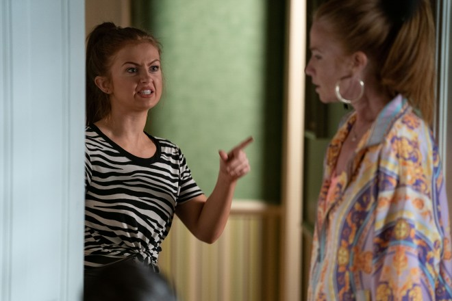 Tiffany Butcher will be furious is furious with her mum Bianca Jackson - EastEnders