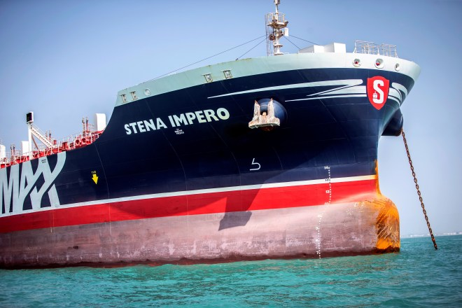 Seven of the 23 crew members on Iranian-seized British oil tanker Stena Impero are set to be freed