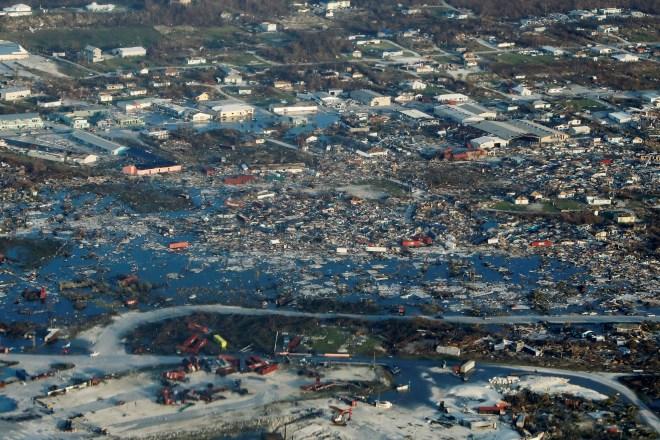 The devastation Hurricane Dorian has wreaked on Abaco Islands in the Bahamas
