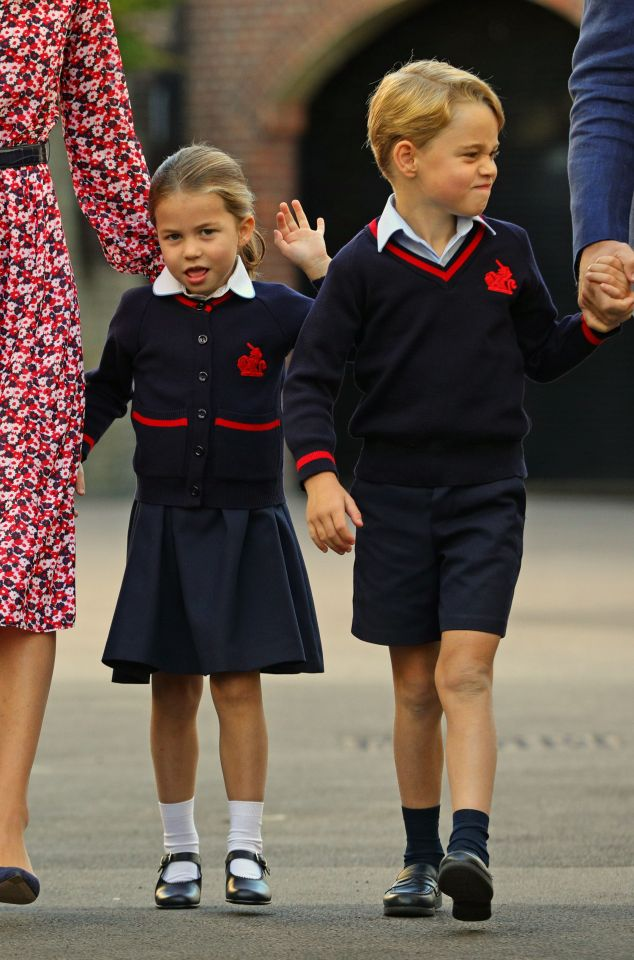 Princess Charlotte will get a sibling discount at the £19k-a-year school as Prince George already goes there