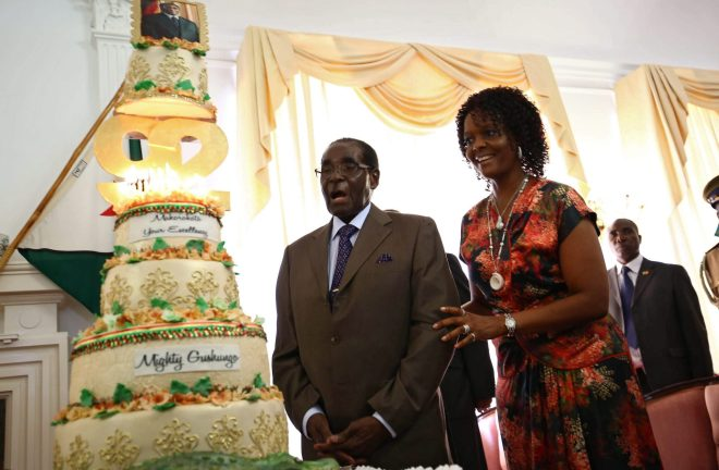 Robert Mugabe made sure his birthday was marked with the utmost extravagance