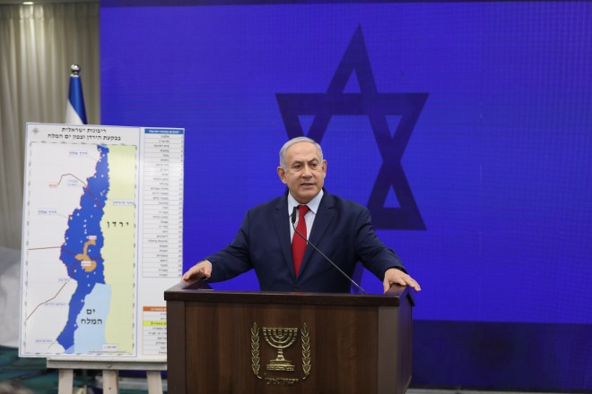 Netanyahu has stated its intention to annex and contain Israeli sovereignty over the Jordan Valley