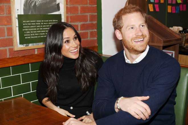 Prince Harry and Meghan went to Social Bite in Edinburgh in February last year