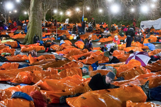 On Saturday, December 7 you too can sleep outdoors and help raise £40m for homeless charities