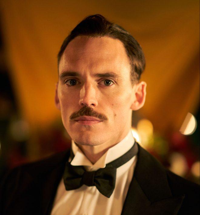 Oswald Mosley is played Sam Claflin in Peaky Blinders