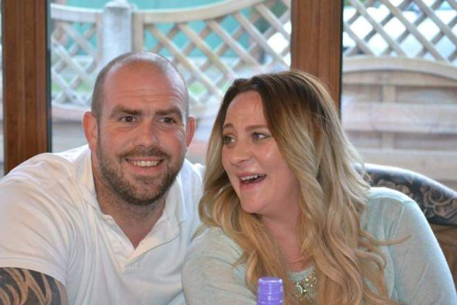 Paul and Angie Spencer told how they became cut off by horror flood waters