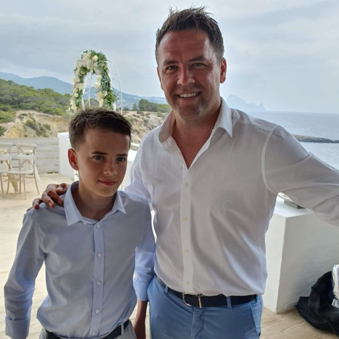 Owen revealed his 13-year-old son is 'clinically blind'