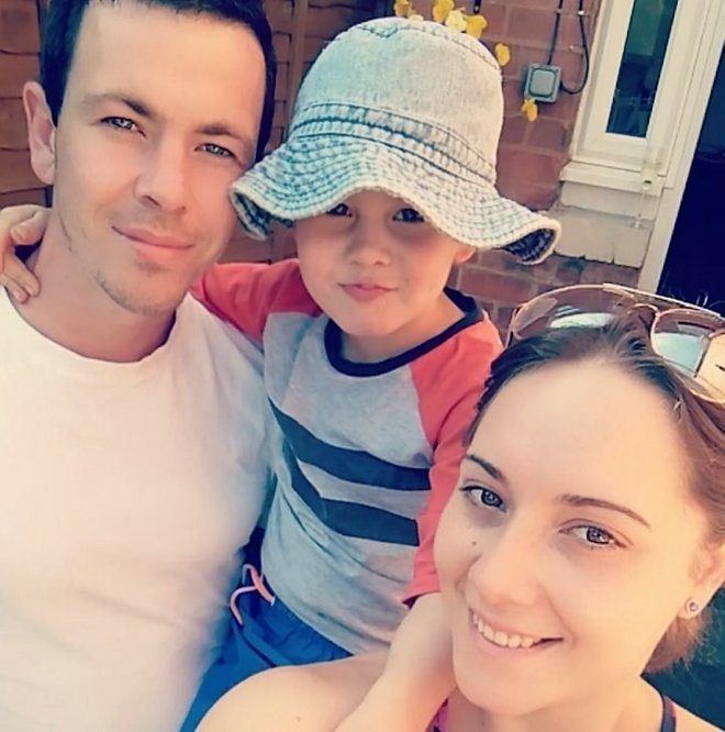 Parents Olivia Saxelby and Jamie Lee said they would do anything to help their little boy