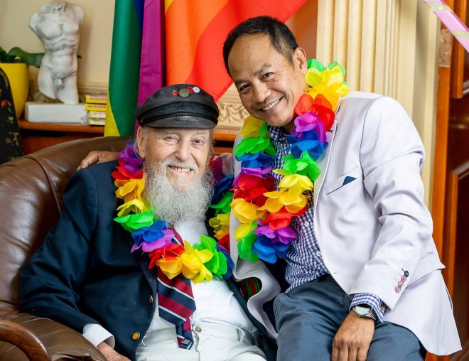 George, who is wed to husband Somchai, says