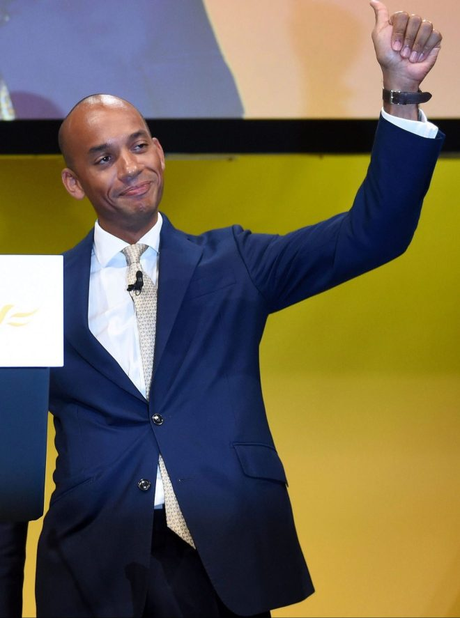 Ex-Labour MP Chuka Umunna who joined Change UK before jumping ship to the Lib Dems has demanded an apology