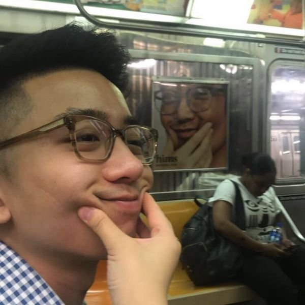 Some passengers realise their amazing resemblances