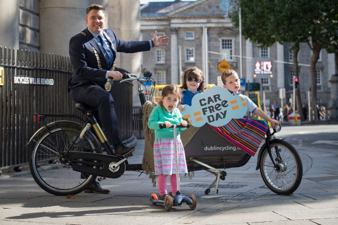 World Car Free Day encourages Londoners to re-imagine their city without cars and highlights pollution and emissions