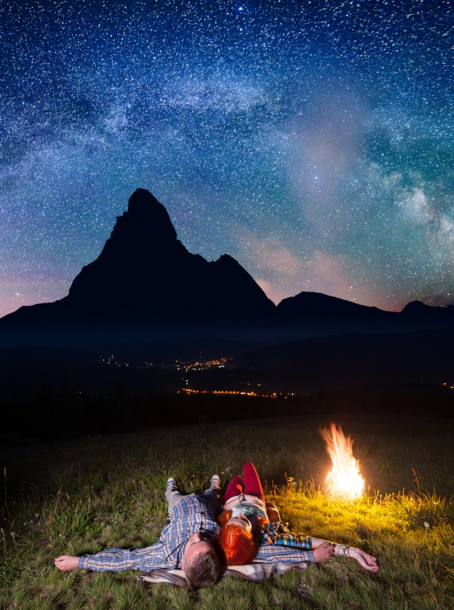 Millions of kids will be told to spend a 'night under the stars' in national parks in a new eco-push by ministers