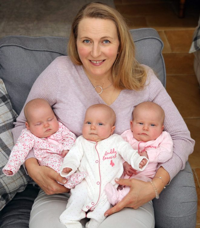 Mum Rosie had been told she would need IVF to conceive again after doctors saw a womb problem