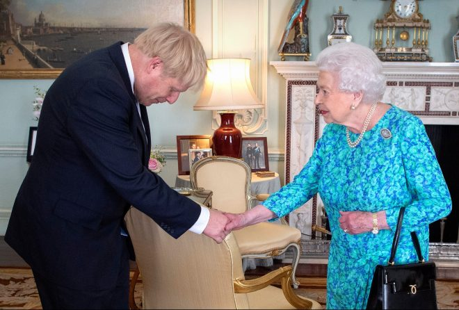 Boris Johnson escaped a second charge of having purposely misled the Queen