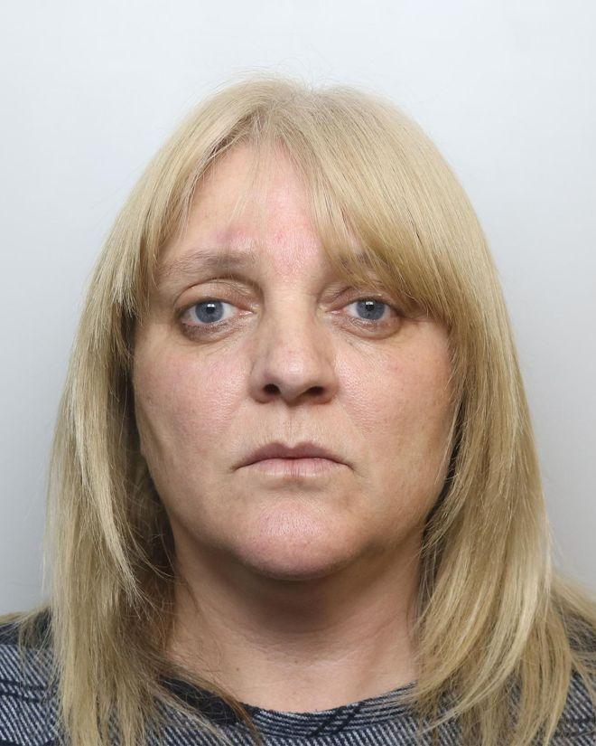 Sherry Bray' spolice mugshot