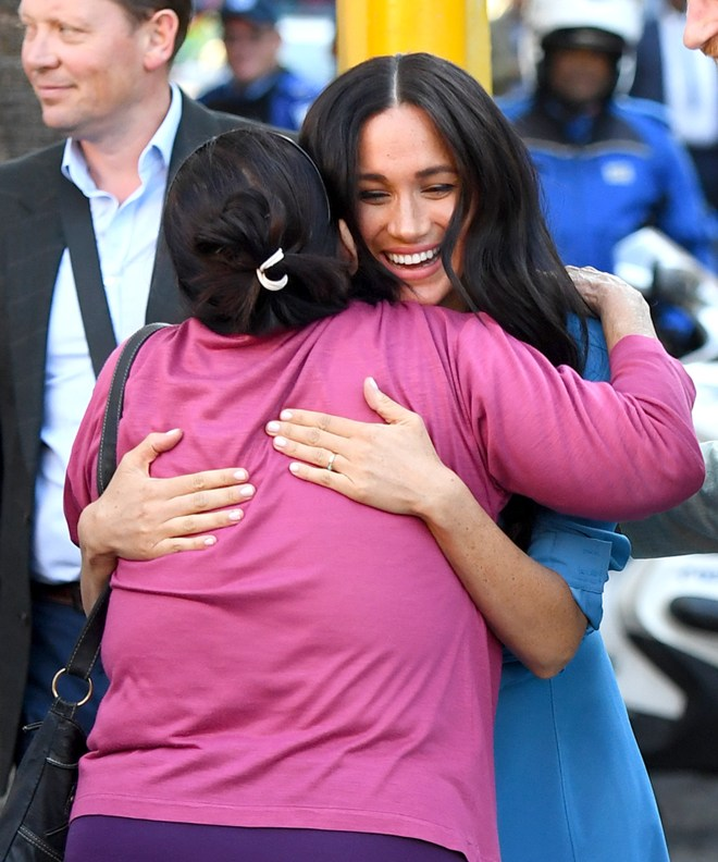 Somaya was in the crowds when the Duke's grandmother the Queen first visited Cape Town